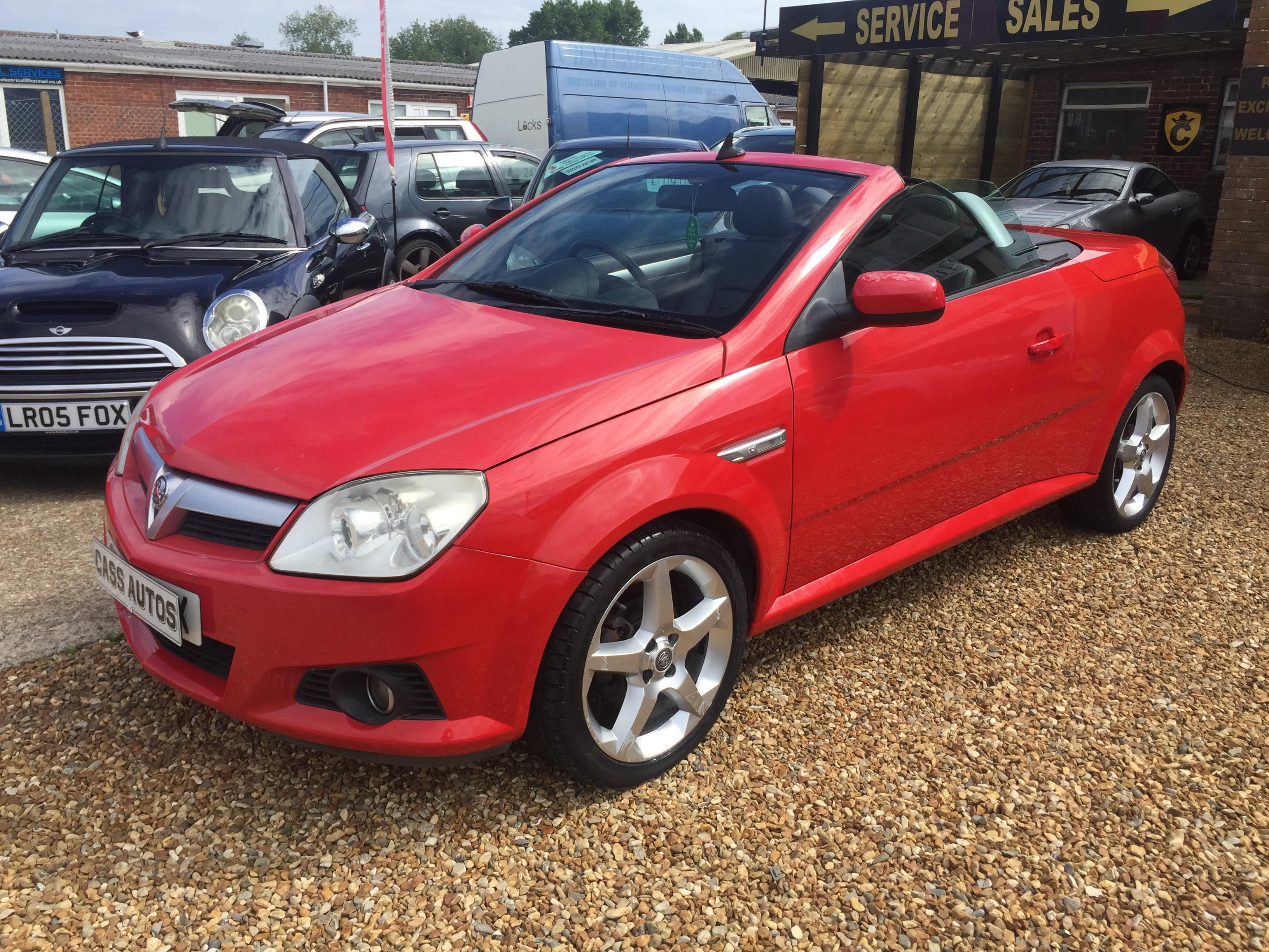 Vauxhall Tigra Exclusive Convertible 2007